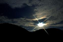 松崎の夜空