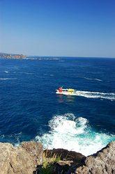 石廊崎の観光船