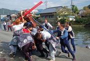 松崎町道部の秋祭り