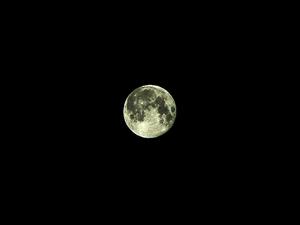 今日の月/松崎町