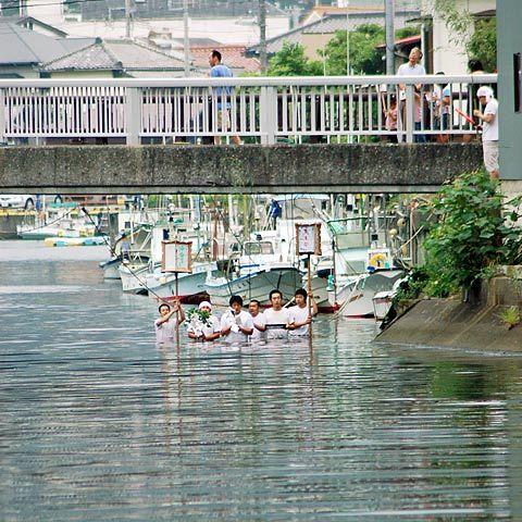 松崎町/道部区の天王祭り1